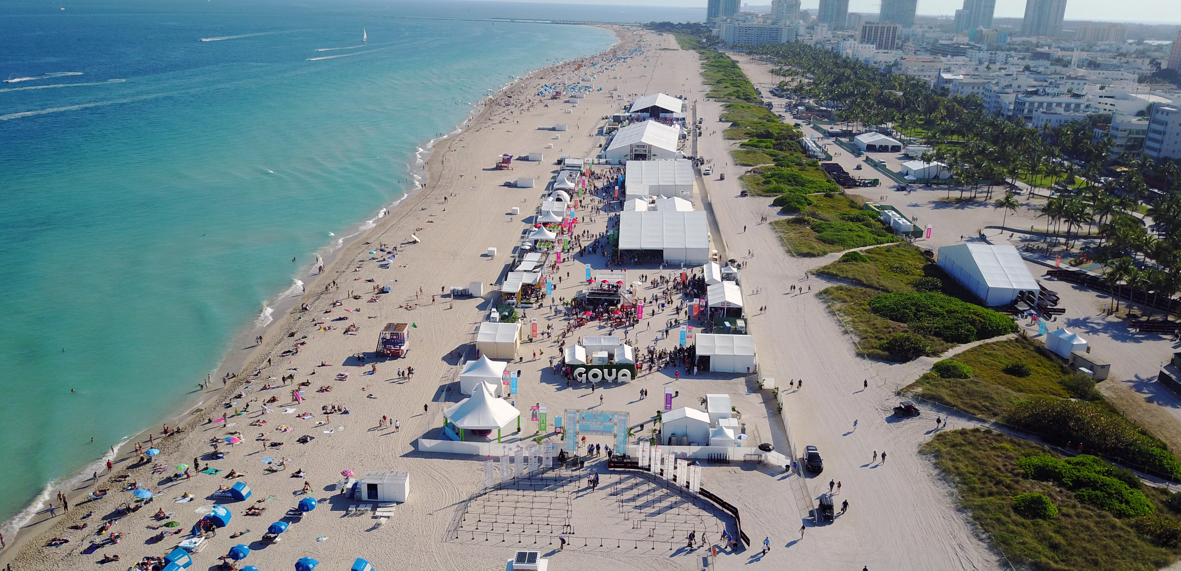 Miami Beach Welcomes Food and Wine Lovers for the 20th anniversary of the Food Network & Cooking Channel South Beach Wine & Food Festival presented by Capital One.