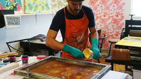 Text and Photographic Imagery: Screen Printing on Paper @ ArtCenter/ South Florida, Fri 1/18 6:00pm