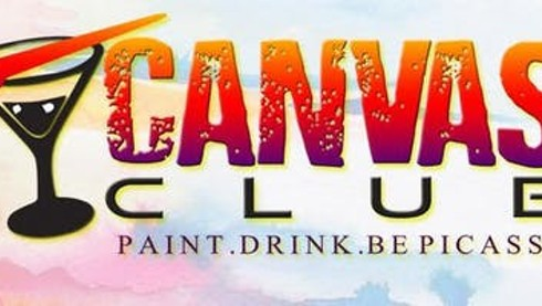 Canvas Club Painting + Wine @ Drinkhouse Fire & Ice Bar, Fri 1/18 6:30pm
