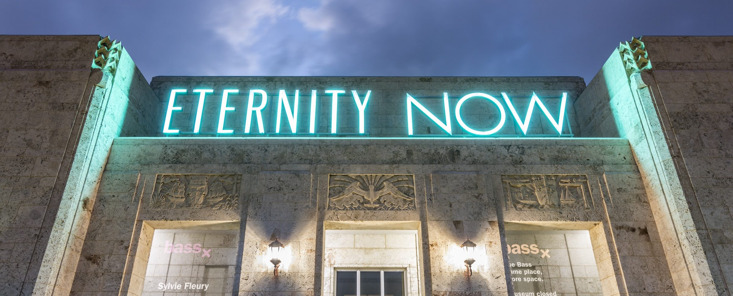 ETERNITY NOW, 2015 by Sylvie Fleury
